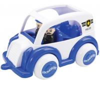 [Policejní auto se dvěmi figurkami]