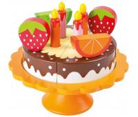 [Dřevěný narozeninový dort]