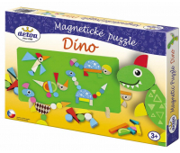 [Magnetické puzzle - Dino]