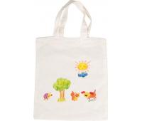 [Prírodná bezfarebná taška (38 x 42 cm)]