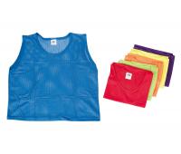 [Rozlišovacie športové vesty - zo sieťoviny - XS oranžová]