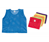[Rozlišovacie športové vesty - zo sieťoviny - XS modrá]