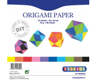 [Papieriky na origami - 70 g/m2 - 100 ks (20 x 20 cm)]