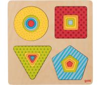 [Vrstvové puzzle - Barevné tvary]