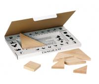 [Dřevěný tangram, 7 ks]