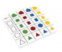 [Pěnové logické tabulky - Barvy a tvary 2]