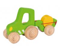 [Dřevěný traktor]
