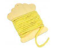 [Elastická šňůrka - 5 m -žlutá]