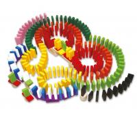 [Legler domino barevné 560 dílů]