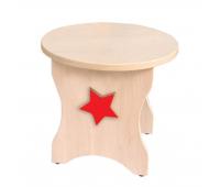 [Židle k toaletním stolkem - Hvězda]