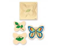 [Motýl - vrstvové puzzle]