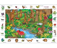 [Objevné puzzle - v lese]