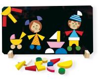 [Magnetické puzzle Děti]