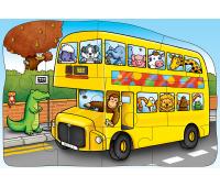 [Oboustranné puzzle - autobus]