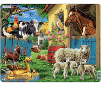 [Larsen Život na farmě - puzzle]