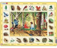 [Objevné puzzle - V lese - slovenská verze]