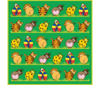 [Dětský koberec Zvířátka ZOO 300 x 300]
