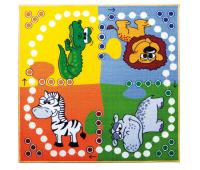 [Dětský koberec Člověče - puzzle 100 x 100]