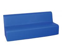 [Křesílko 3 - modré 30 cm]