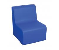 [Křesílko 1 - modré 30 cm]