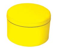 [Taburetek KRUH - žlutá 30 cm]