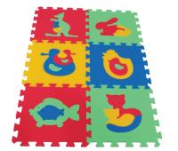 [Dětský pěnový koberec MAXI zvířátka 90 x 60]