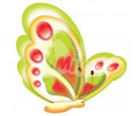 [Dekorace Motýlky - sada]