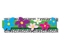 [Prostorová dekorace - obruba Květiny v barvách]