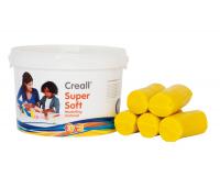 [Creall - ultra jemná modelovací hmota - žlutá 1750g]