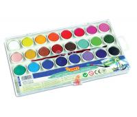 [Vodové barvy - 24 ks barev]