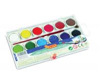[Vodové barvy - 12 ks barev]
