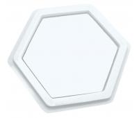 [Poduška na razítkovou barvu - Šestiúhelník (14 x 14 cm)]