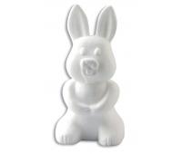 [Polystyrenové tvary - Zajíček (výška 24 cm)]