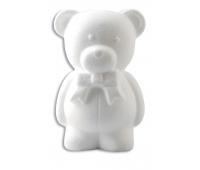 [Polystyrenové tvary - Medvídek (výška 20 cm)]