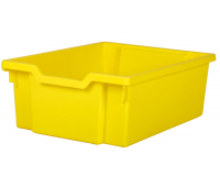 [Střední kontejner bez kolejniček - žlutá]