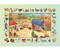[Naučné dětské koberce Farma 100 x 150]