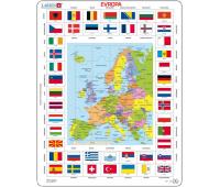 [Glóbus v puzzle - Evropa]