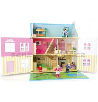 Domeček pro panenky - Květinový ráj
