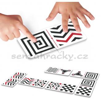 Hmatové domino - Rôzne tvary