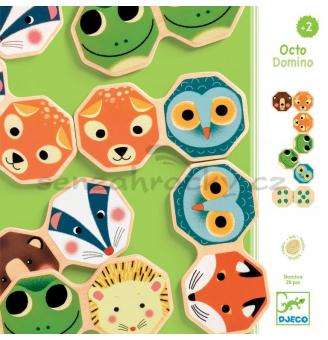 Drevené domino - Zvieratká