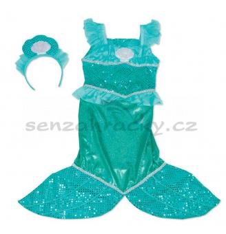 Kostým - Mořská panna