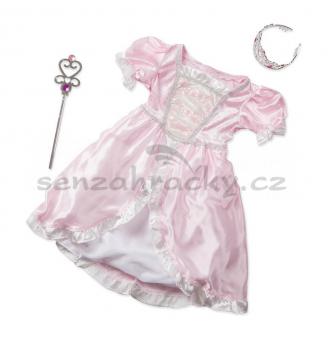 Kostým - Princezna - růžový