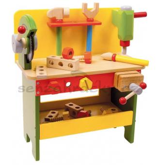 Legler Pracovní stůl s pilou dřevený