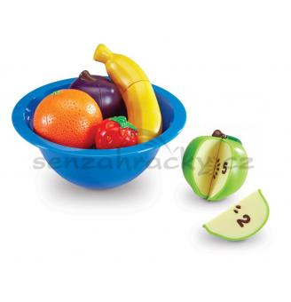 Počítání - miska s ovocem