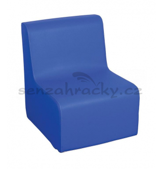 Křesílko 1 - modré 30 cm