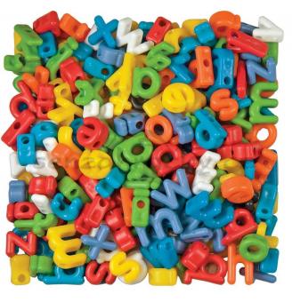 Korálky - malá abeceda