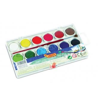 Vodové barvy - 12 ks barev