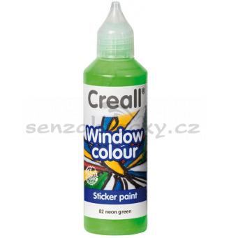 Barva na sklo Creall - neonově zelená