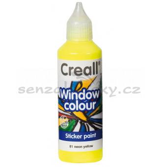 Barva na sklo Creall - neonově žlutá