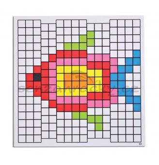 Vzorové karty k mozaice